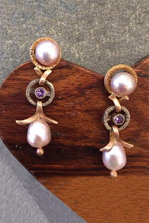 Baroque Pearl Earrings