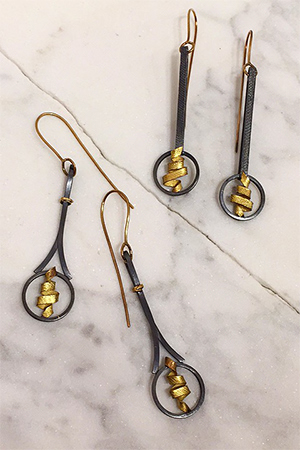 Kim Maitland - Energy Earrings