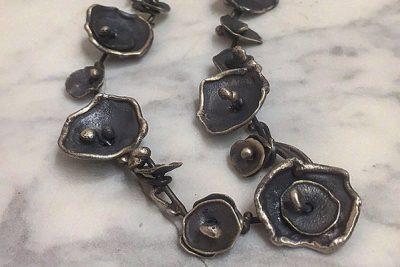 Lori Swartz - Industrial Flower Necklace