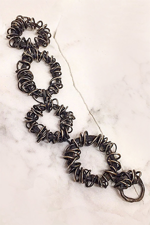 Lori Swartz - Birds Nest Silver Bracelet