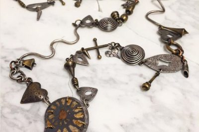 Melissa Lovingood - Spiral Ammonite Necklace