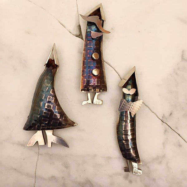 Melissa Lovingood - SilverMan Brooches