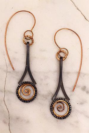 Kim Maitland - Galaxy Earrings