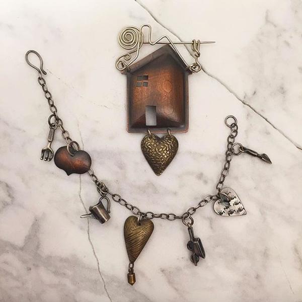 Melissa Lovingood - Home & Heart Booch and Bracelet