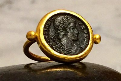 Andrea Jerome Coin Ring
